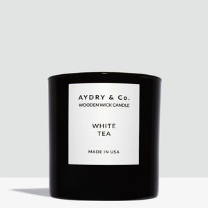 **LAST ONE IN STOCK** Aydry & Co. White Tea Candle